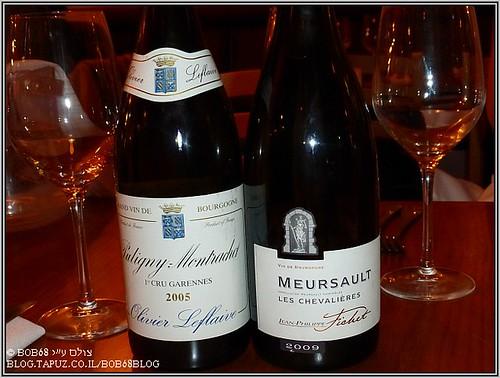 Olivier Leflaive Puligny Montrachet 1er Cru Garennes 2005 , Jean Philippe Fichet Meursault Les Chevalieres 2009