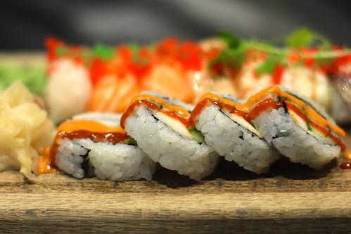Sushi @ Tezukuri sushi