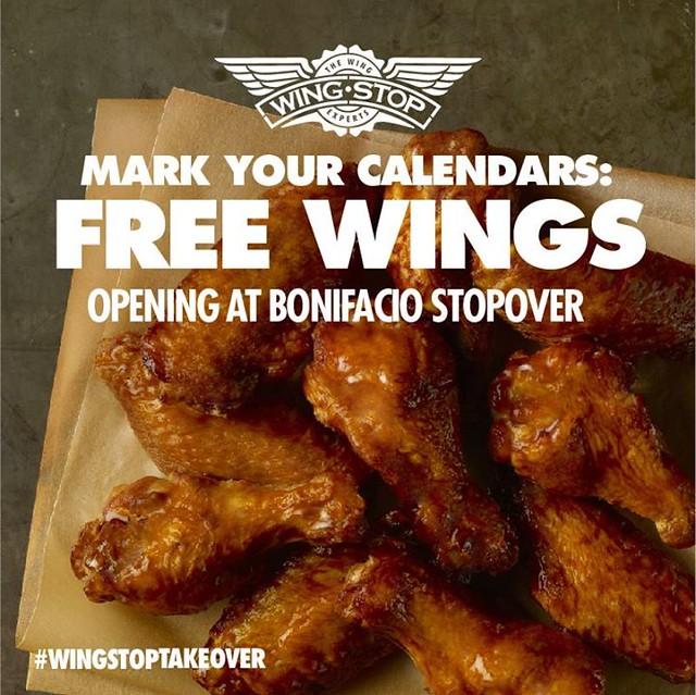 wingstop opening bonifacio stopover