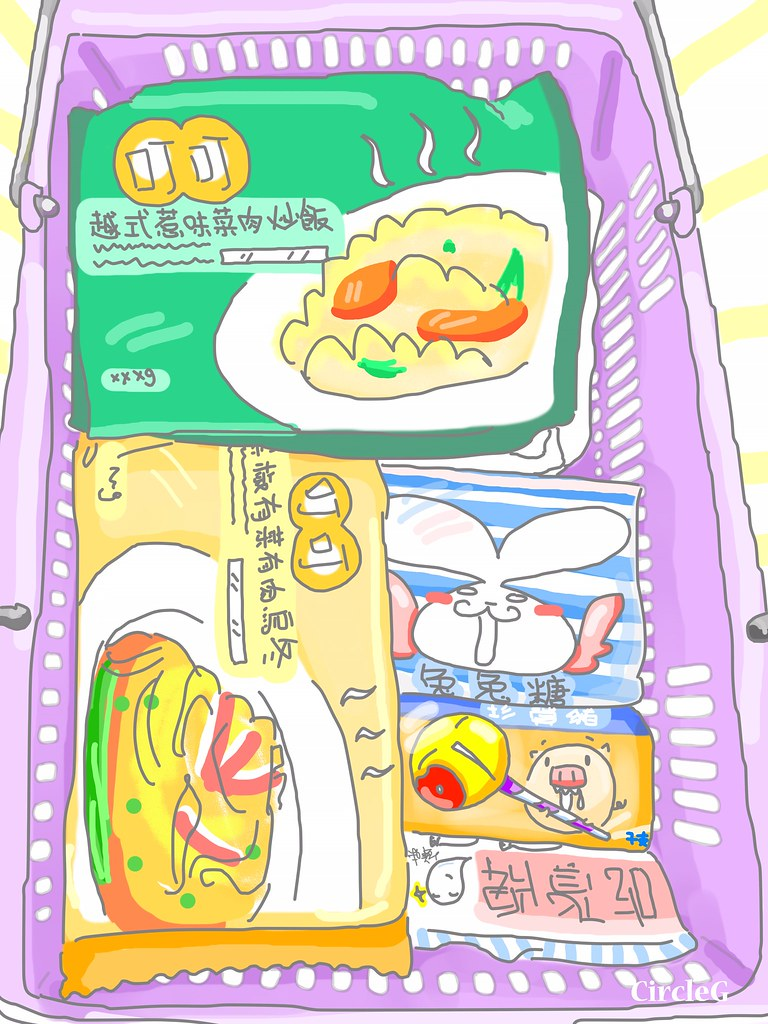 CIRCLEG 腦點系列 CIRCLEG教你點樣33蚊食3餐 叮叮飯 呵叮 微波 愉景灣 船 情人節 西方 西式住宅 俺物語 動漫 動畫 (1)