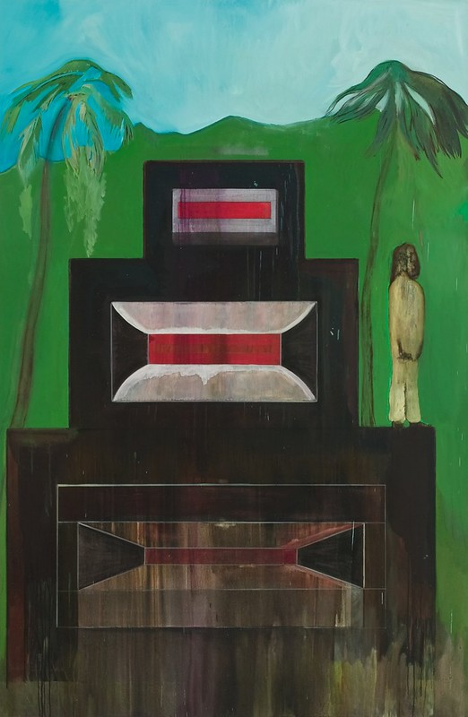 Peter Doig, Maracas, 2002-2008, Oil on canvas