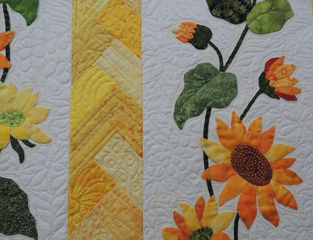 Sunflowers by Lori Box - Detail
