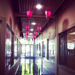 Hallway in Japantown, SF.
