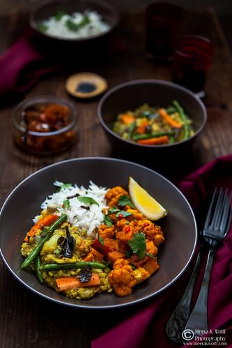 Vegetable Dal with Cauliflower Pumpkin Curry-0048
