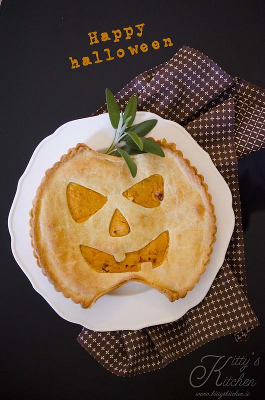 Torta rustica alla zucca di halloween_7620