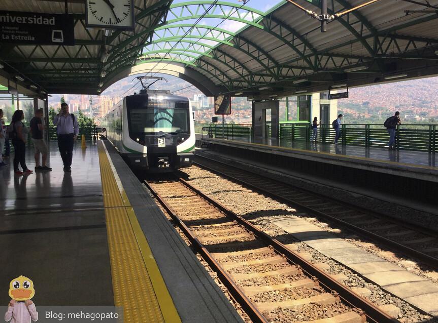 Metro en Medellín