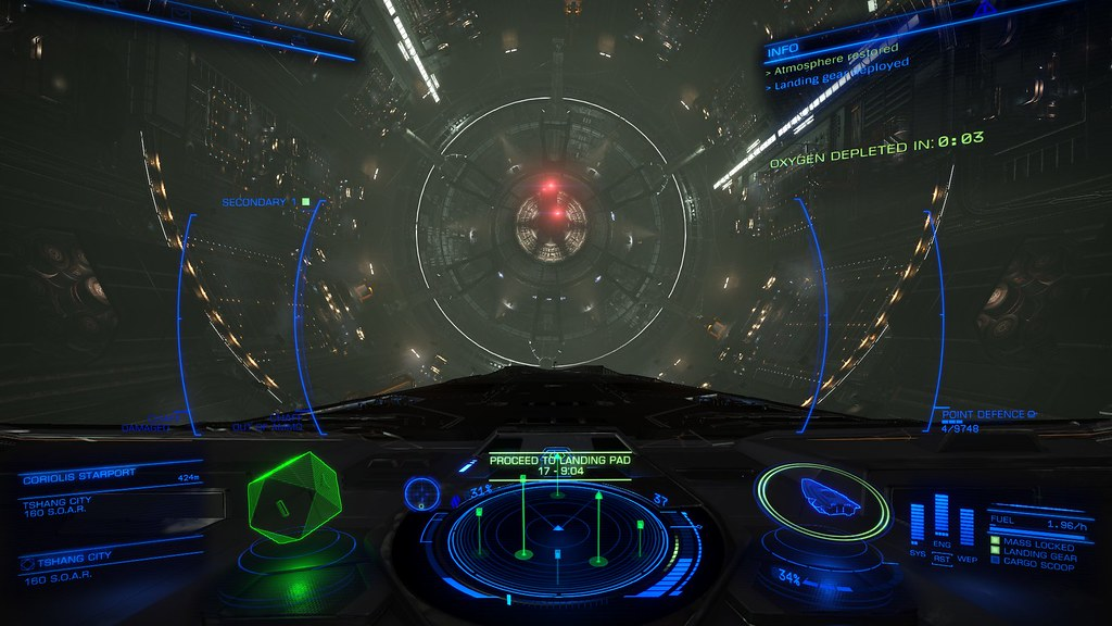 Can you change the HUD layout colour? - Elite: Dangerous