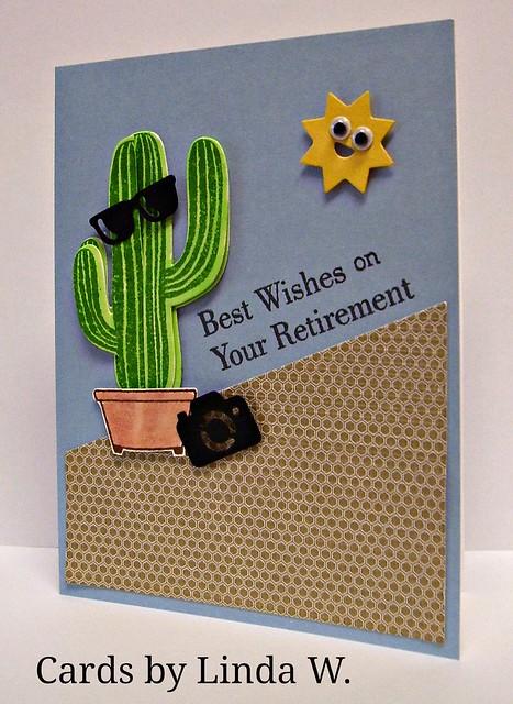 Retirement cactus