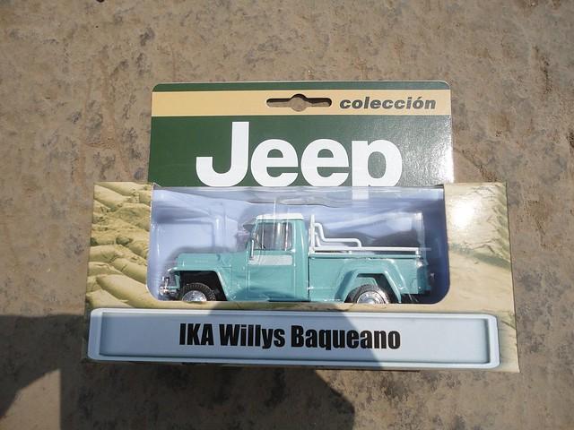 Ika Willlys Baqueano (1959) 1/43 (PCT - IXO)