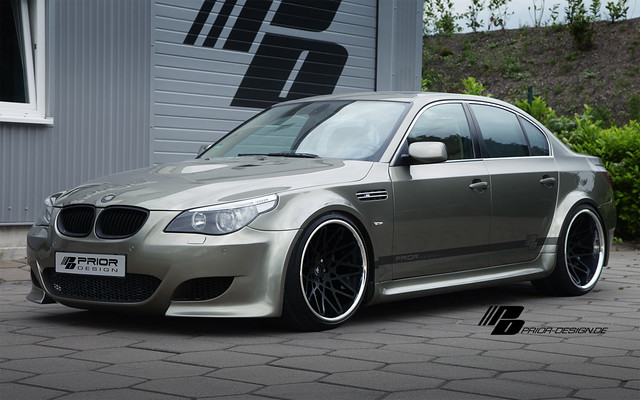 bmw 5 series e60 pd widebody aerodynamic kit flickr. Black Bedroom Furniture Sets. Home Design Ideas