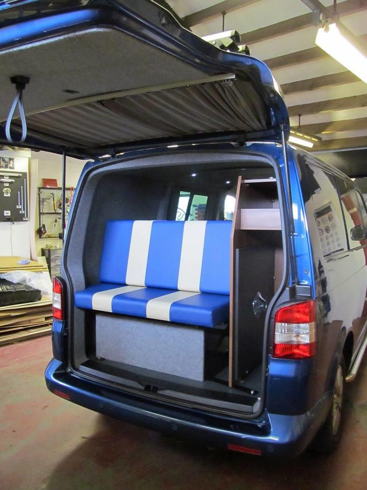 Vw Camper Van >> Funky Blue VW T5 Camper | Funky Blue VW T5 Camper | Flickr