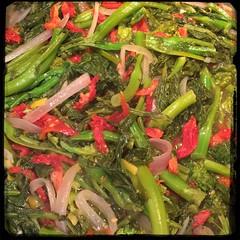 #homemade #rapini w/ #SundriedTo #CucinaDelloZio