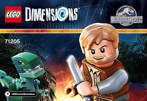 LEGO Dimensions Jurassic World Team Pack (71205)