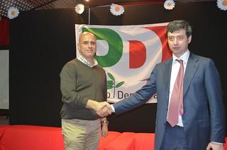 Vito Cessa e il Ministro Orlando