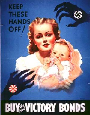 World War II Poster - Buy Victory Bonds