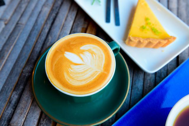 新北 淡水–世外桃源,三合院上喝咖啡–石牆仔內自家烘焙咖啡