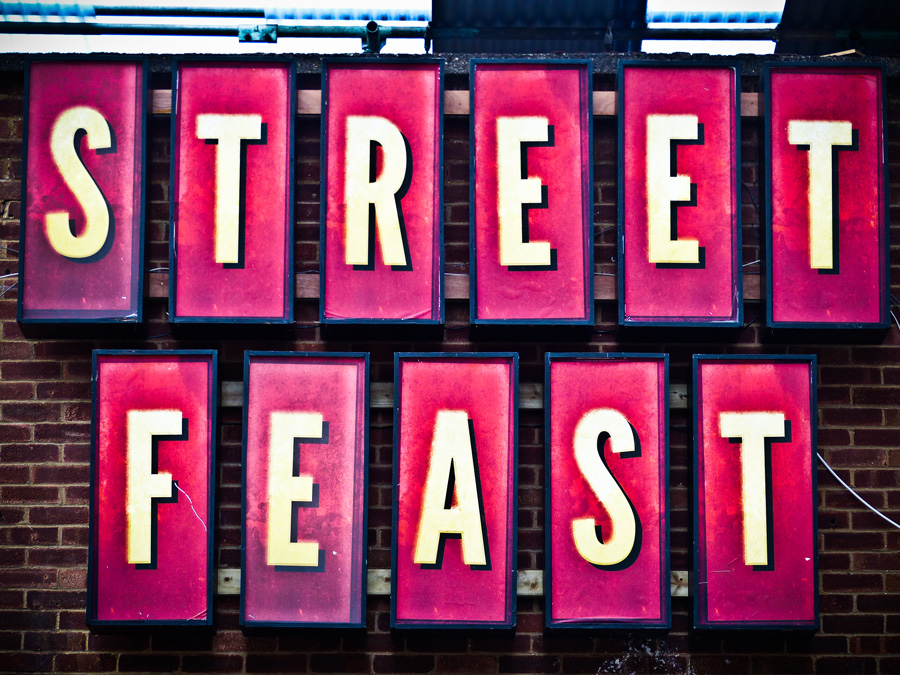 Logo-of-Dalston-Street-Feast,-London