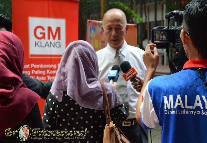 Pengarah Urusan Pusat Pemborong GM Klang, Dato Lim Seng Kok