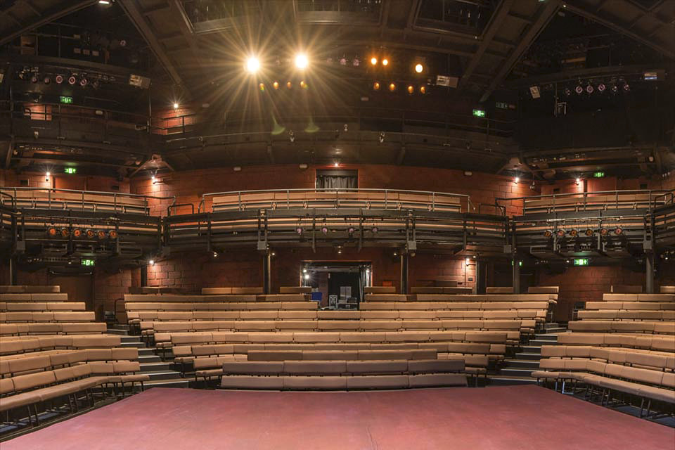 Interior Of The Young Vic