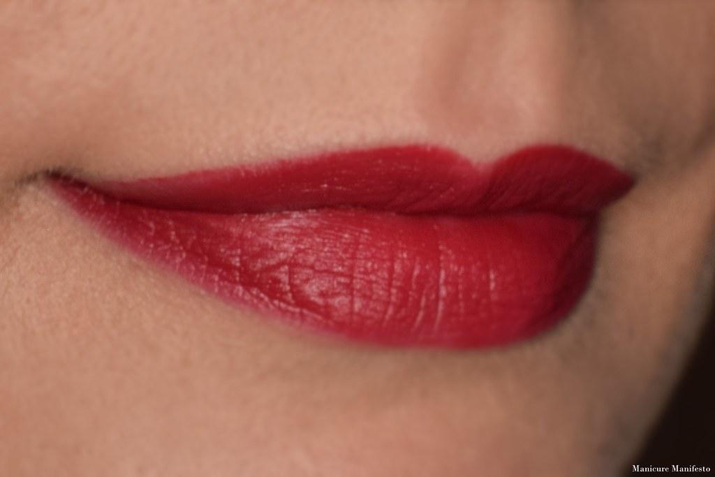 Bite Beauty Matte Creme Lip Crayon Red Velvet review