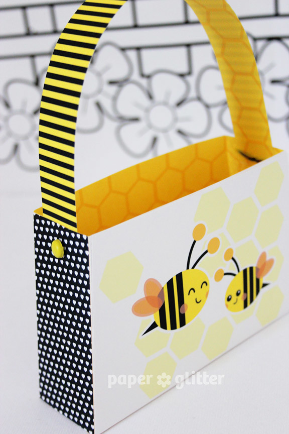 12 printable party printables bee children birthday paper