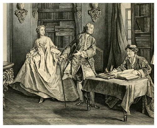 004- La esposa avarivciosa y el galante engachador-Tales and Novels in verse-1896- Ilust. Charles Eisen