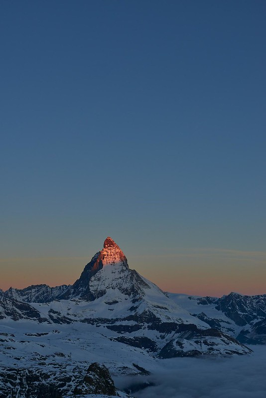 First light 2 - Zermatt