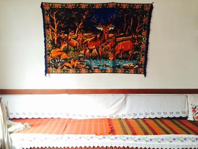 想念游牧生活的壁上地毯裝飾