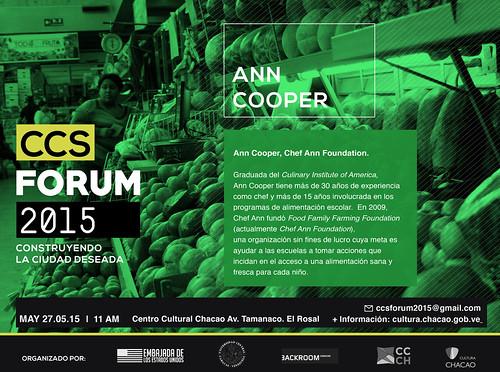 Ann Cooper invitacion