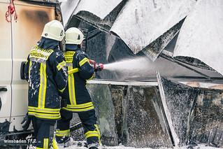 Großbrand in Bäckerei Pfungstadt 23.05.15