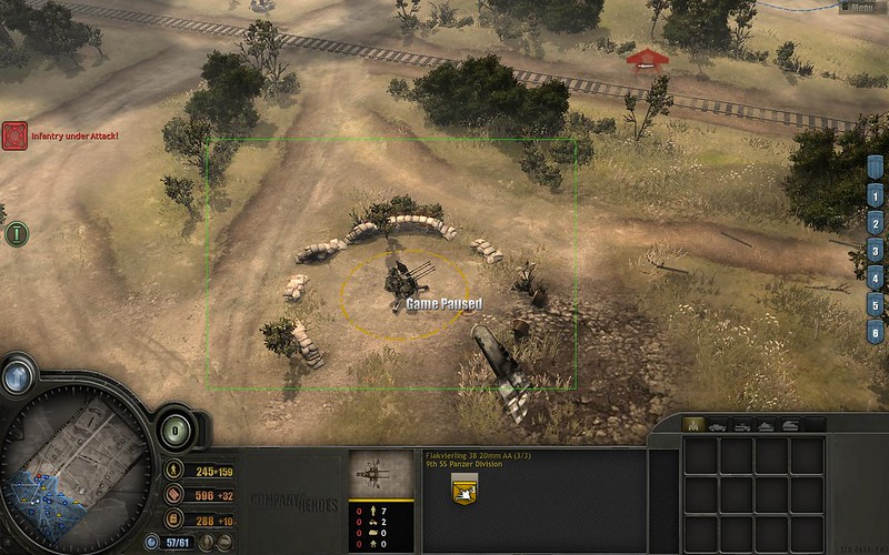 Campaign 2 Mission 1 - use area select to view ally unit without taking it over as your own