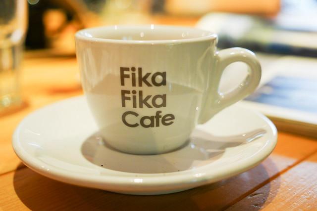 台北 中山–城市風貌,北歐快炒–Fika Fika Cafe