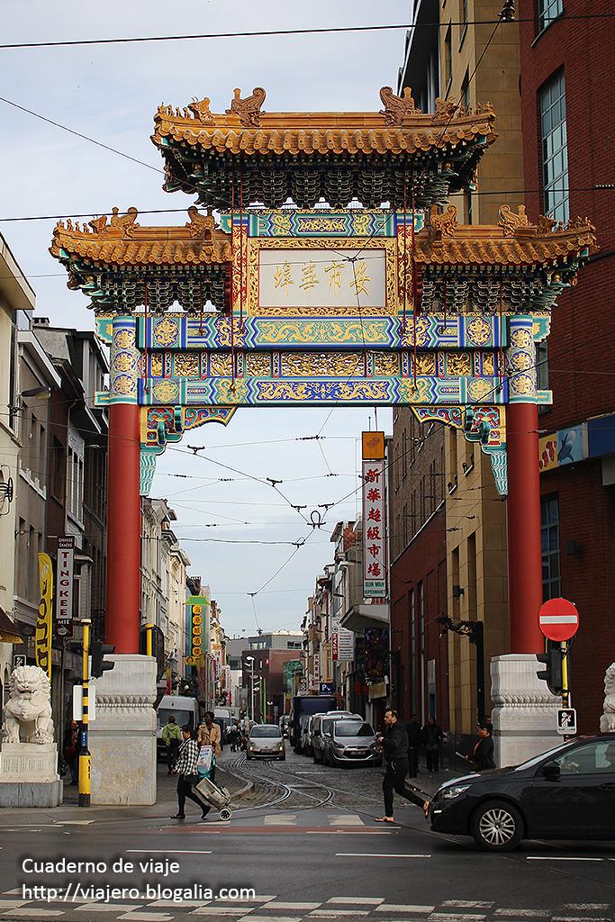 Entrada al barrio chino. © Paco Bellido, 2015