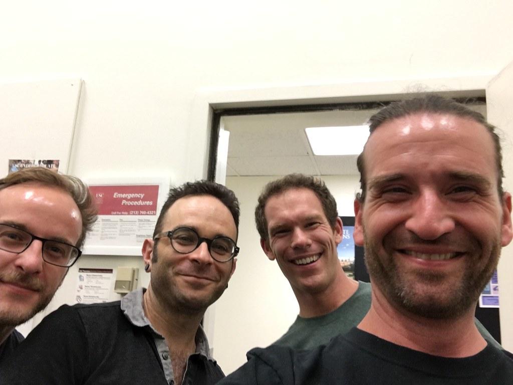 Fernando de la Fuente, David Allen Moore, Dan Carson, and Jason!