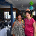 Volunteers - Agnes Butler and Ruth Murray
