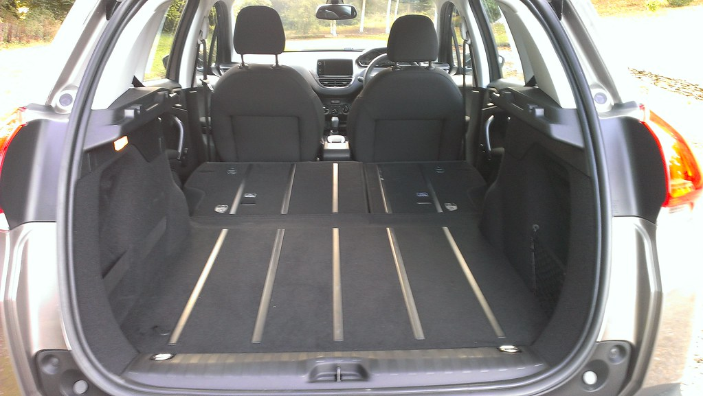 Rear Seats Fold Down To Offer More Cargo