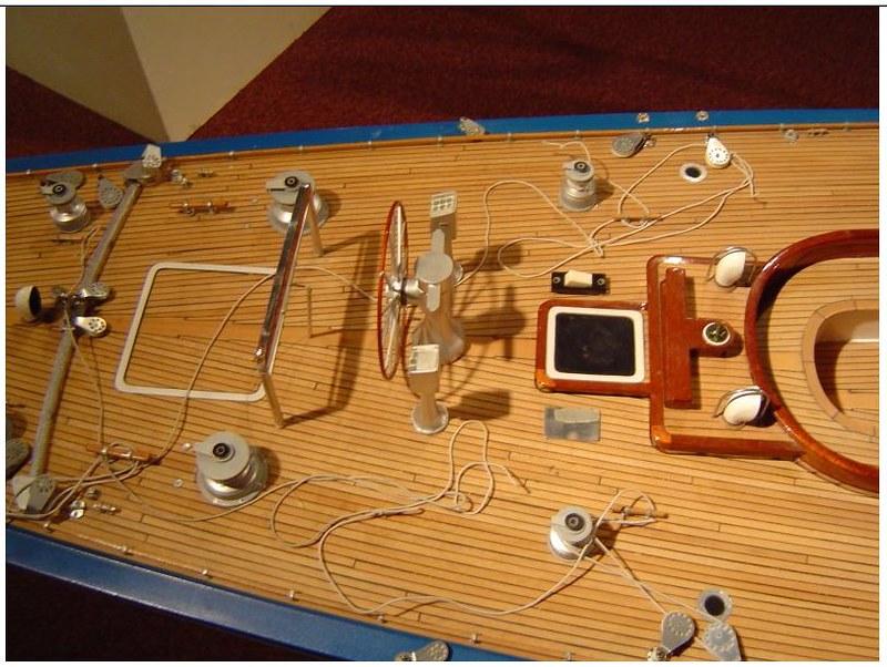 Endeavour sailboat model 17212620031_0f461a8d6f_c