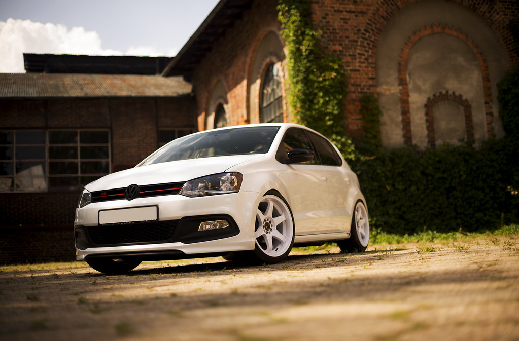 vw polo jr 3 18x9 white jr wheels flickr. Black Bedroom Furniture Sets. Home Design Ideas