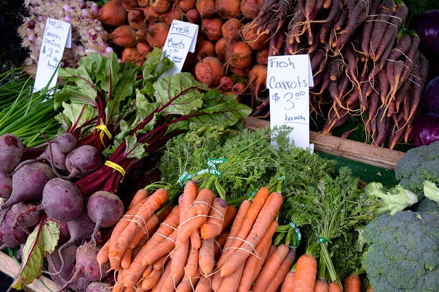 Local Produce at Venice Beach Farmers Market