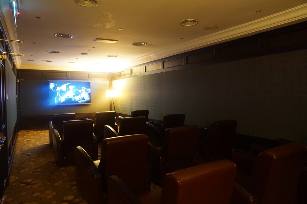 Staying at Majestic Hotel KL - the screening room