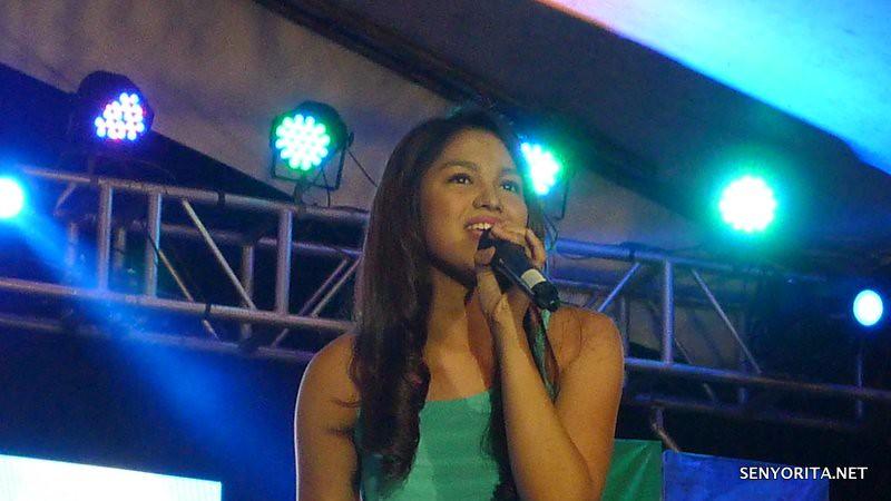 Jane Oineza - Kapamilya Karavan in Dagupan City - Bangus Festival 2015