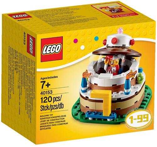 LEGO Birthday Cake (40153)