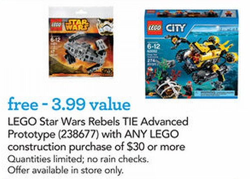 Toys R Us Tie Fighter Promotion