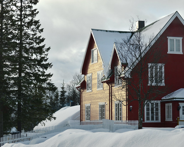 Atardecer en Tromso, últimos rayos de luz