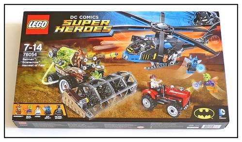 LEGO SuperHeroes DC Comics 76054 Batman Scarecrow Harvest of Fear box01