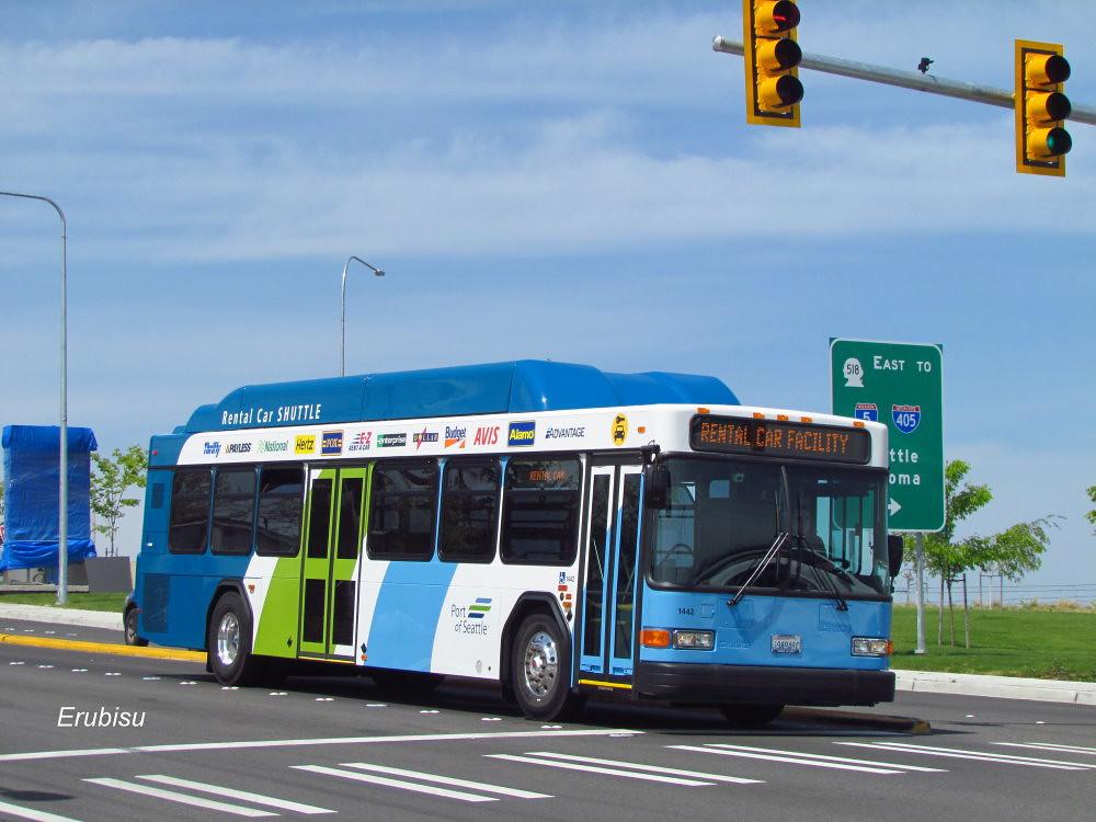 Rental Car Shuttle Bus Seatac