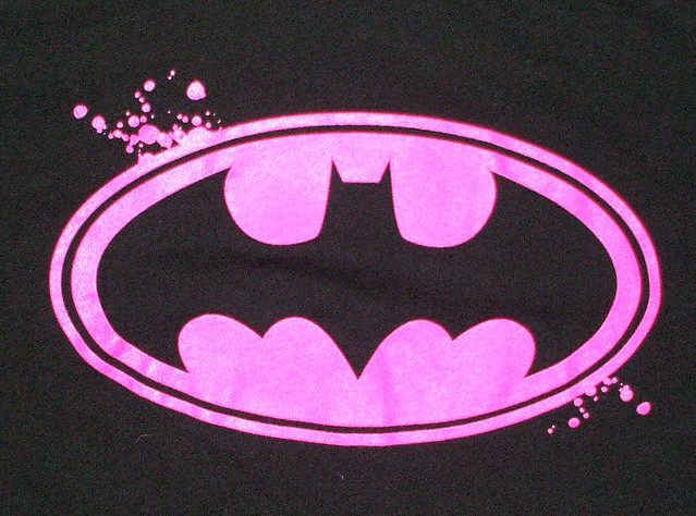 static pink batman - photo #13