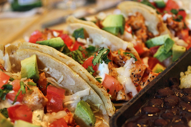 Baja Chicken Tacos Baja Chicken Tacos 1