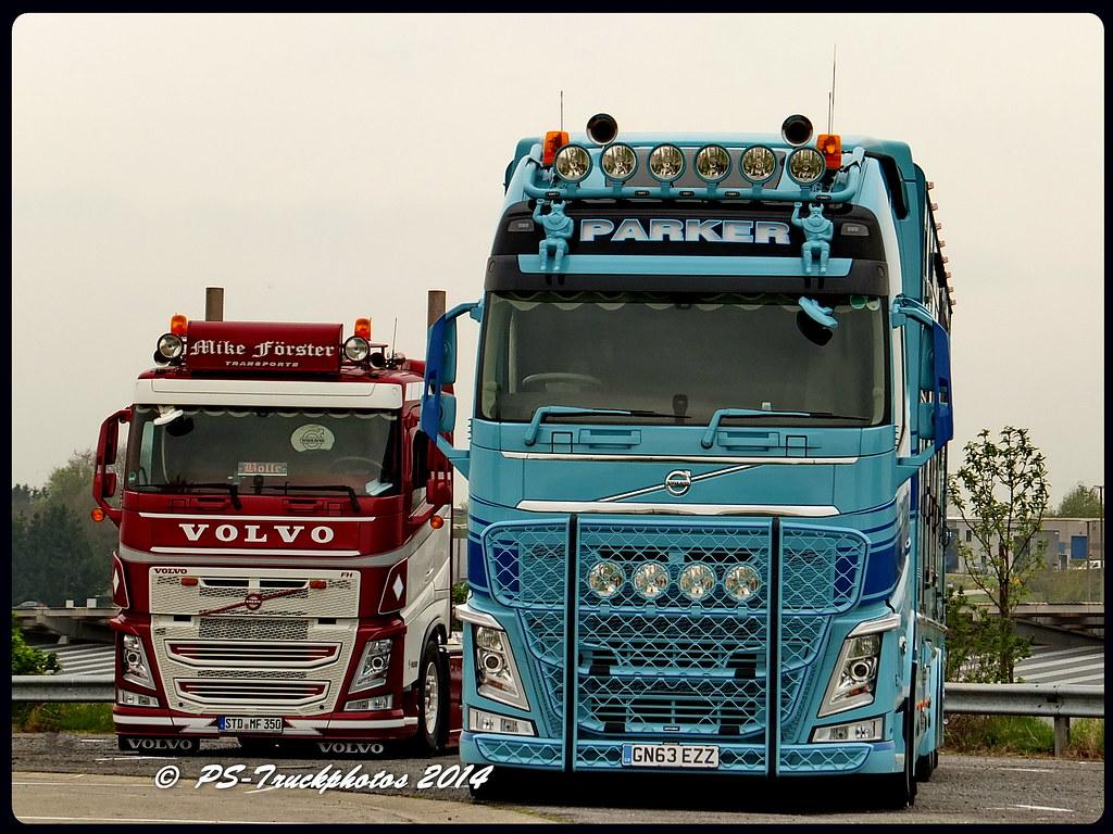 Volvo Fh Globetrotterxl Parker Gb 2 Ps Truckphotos