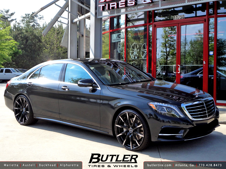 Mercedes S550 With 22in Lexani Css15 Wheels Additional